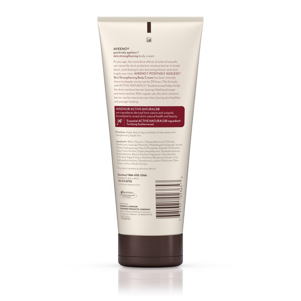 Aveeno 174 Positively Ageless 174 Skin Strengthening Body Cream