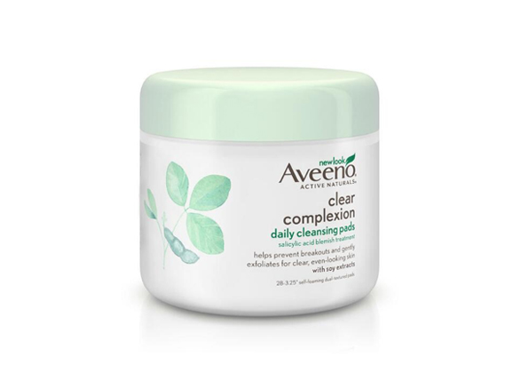 AVEENO® CLEAR COMPLEXION Daily Cleansing Pads