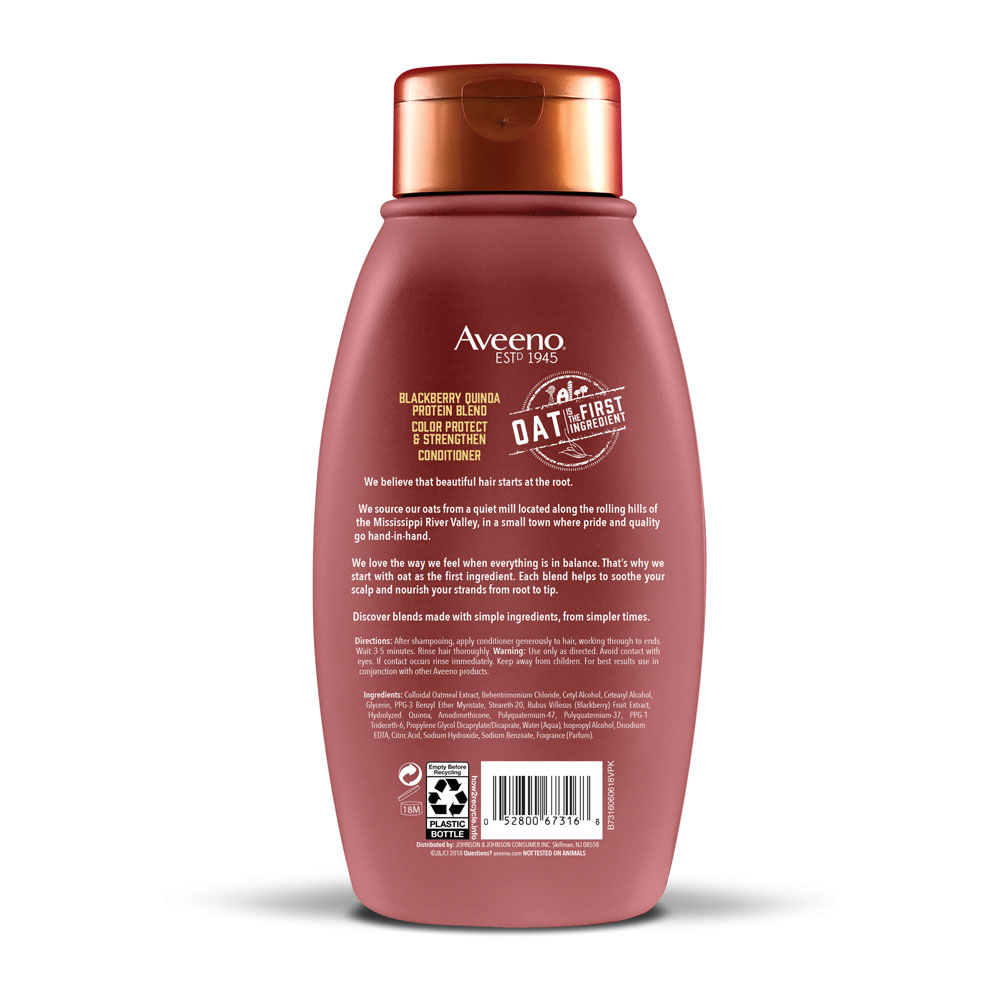 AVEENO® Blackberry and Quinoa Protein Blend Conditioner