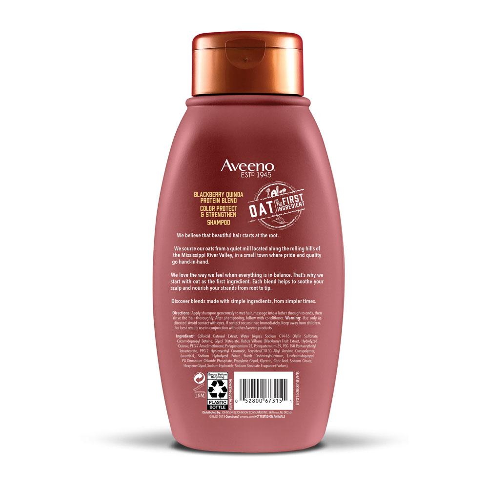 AVEENO® Blackberry and Quinoa Protein Blend Shampoo