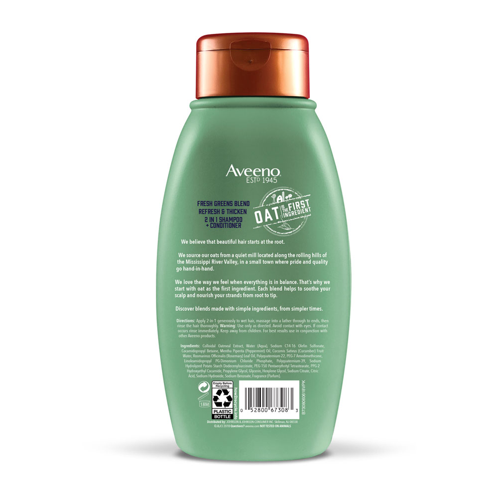 2 In 1 Shampoo Amp Conditioner For Volume Aveeno 174