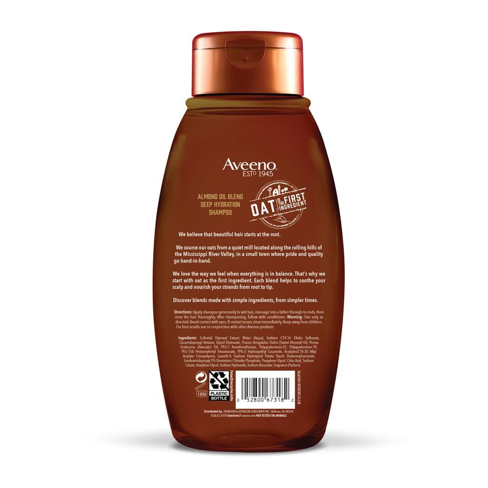 AVEENO® Almond Oil Blend Shampoo