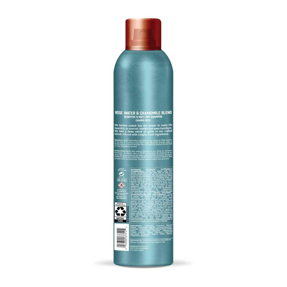 AVEENO® Rose Water and Chamomile Blend Dry Shampoo