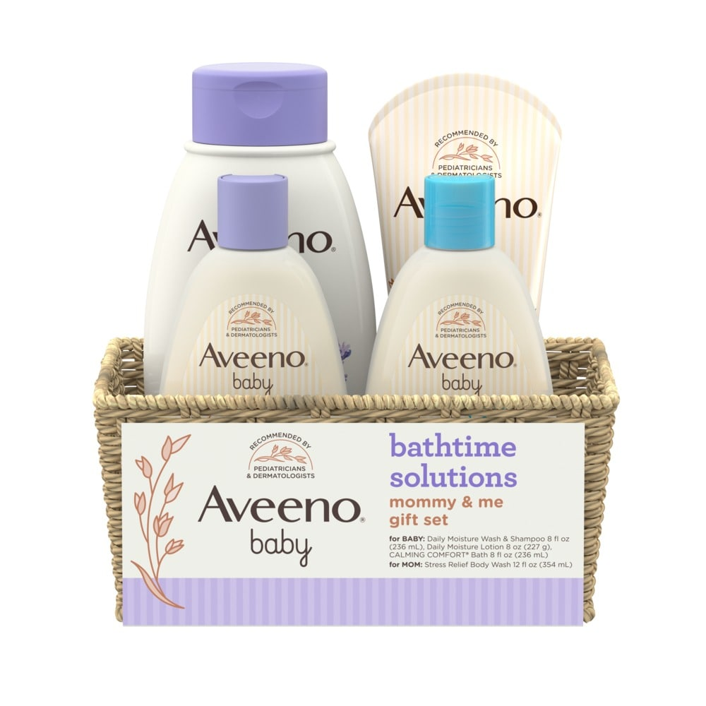 Set de regalo AVEENO® Baby Bathtime Solutions