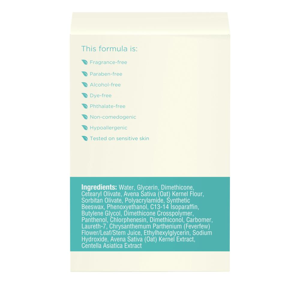 Aveeno Calm + Restore Oat Gel Moisturizer, For Sensitive Skin Side