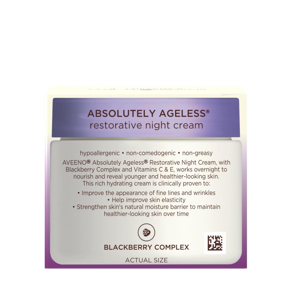 Absolutely Ageless Restorative Night Cream Aveeno 174