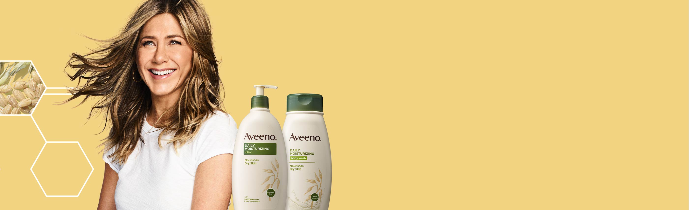 Get AVEENO® Skin Happy With Skincare & Hair Care Products