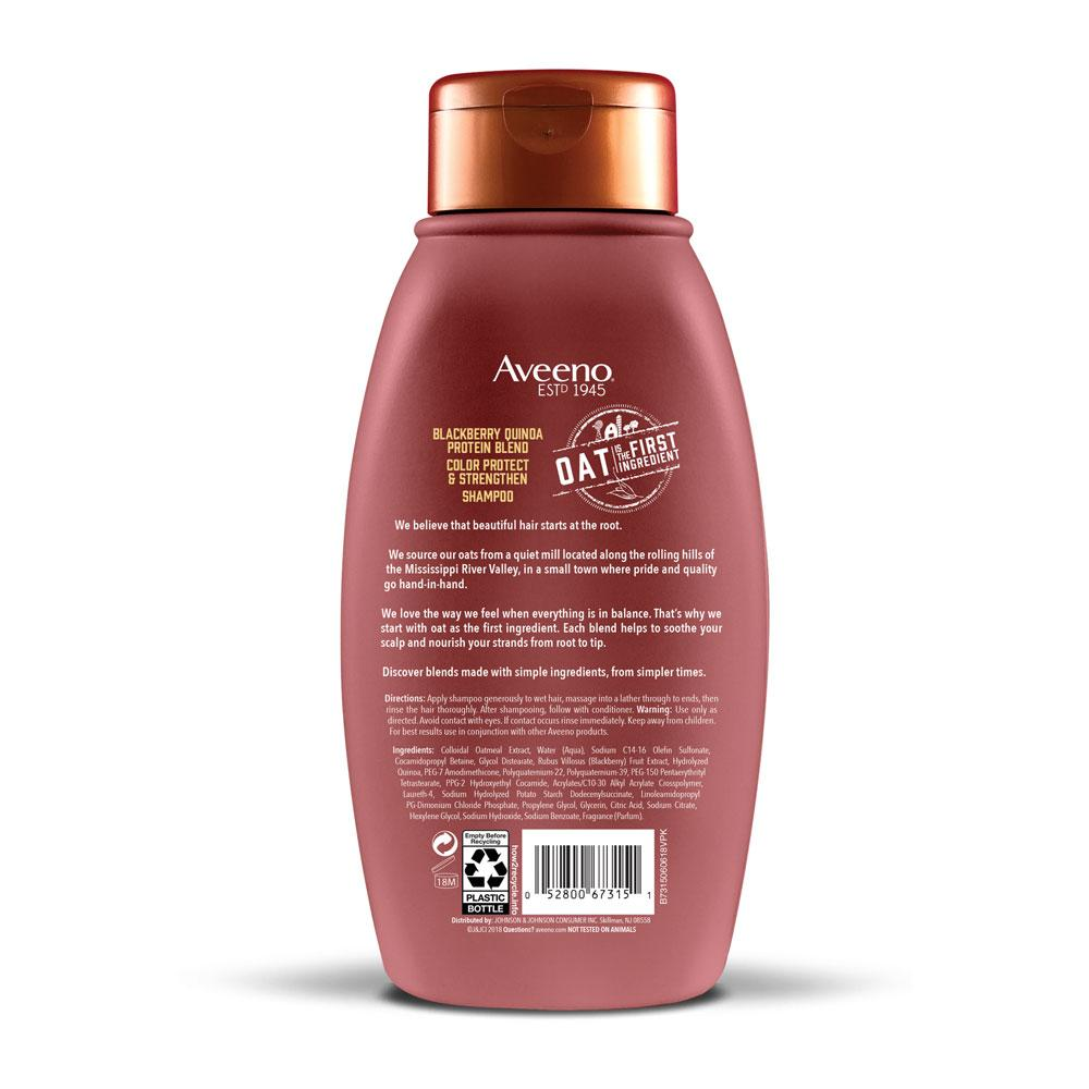 AVEENO® Blackberry and Quinoa Protein Blend Shampoo