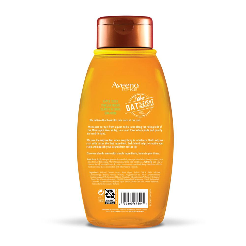 AVEENO® Apple Cider Vinegar Blend Shampoo