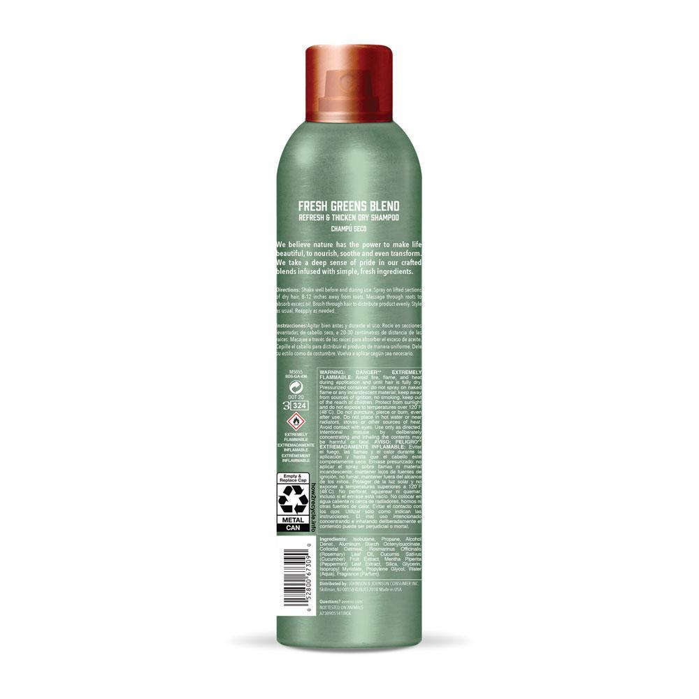 AVEENO® Fresh Greens Blend Dry Shampoo