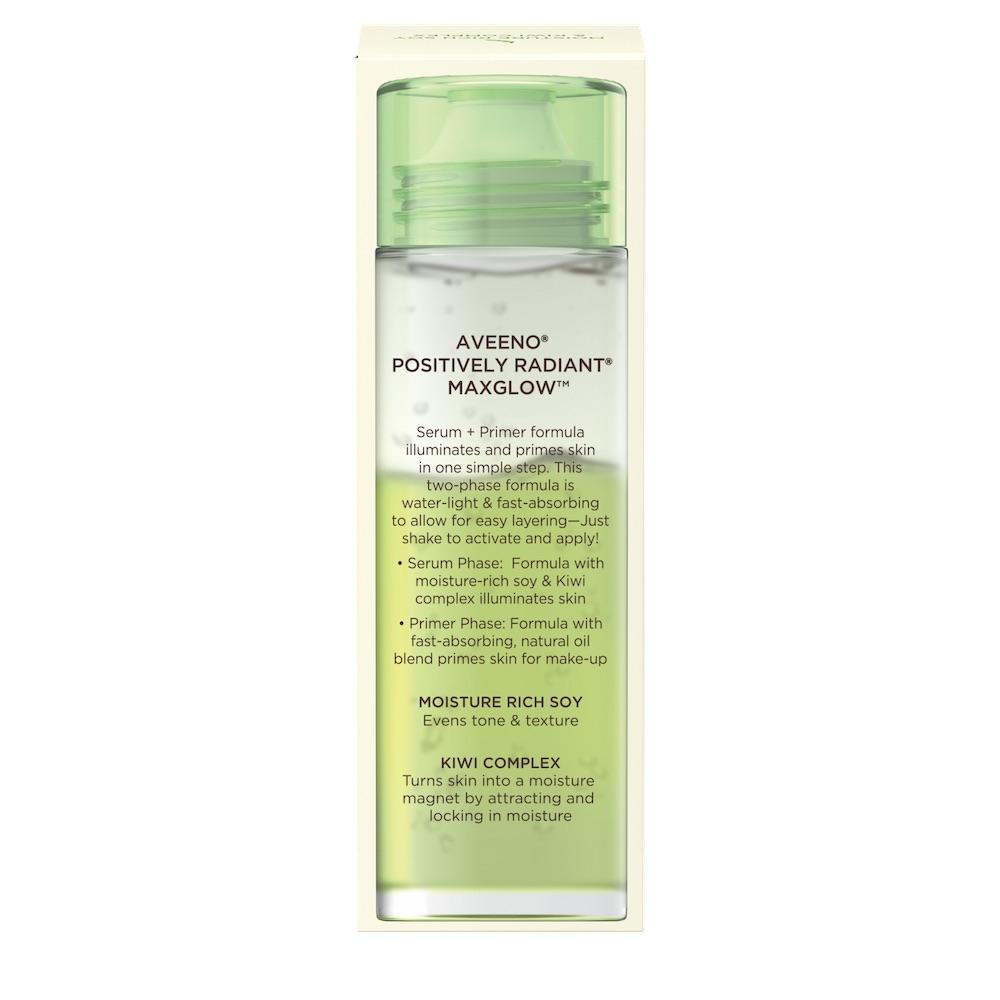 AVEENO® Positively Radiant Maxglow Serum and Primer