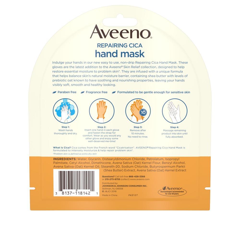 AVEENO® Repairing CICA Hand Mask