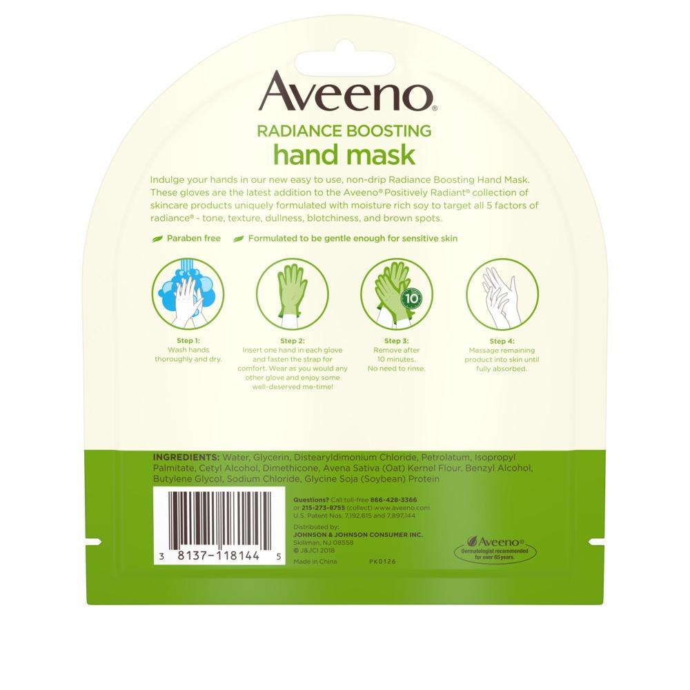 AVEENO® Radiance Boosting Hand Mask
