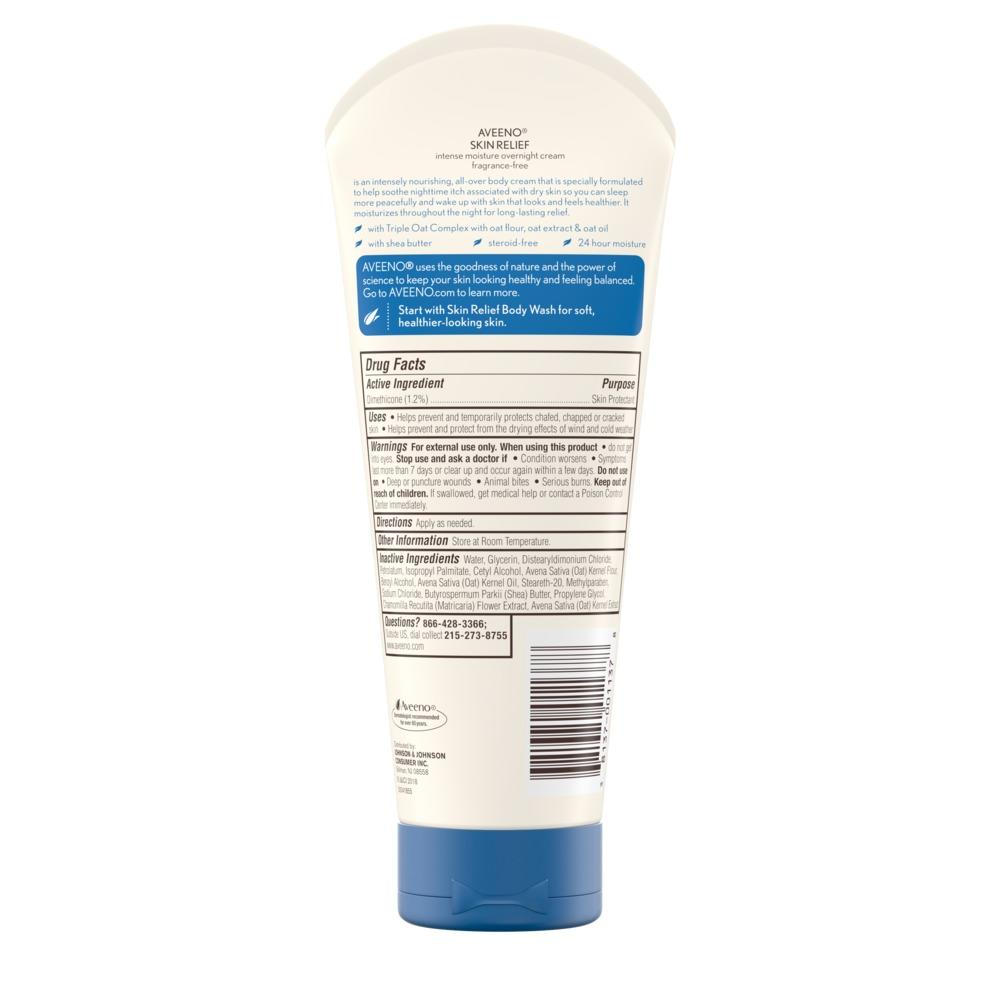 AVEENO® Skin Relief Overnight Cream