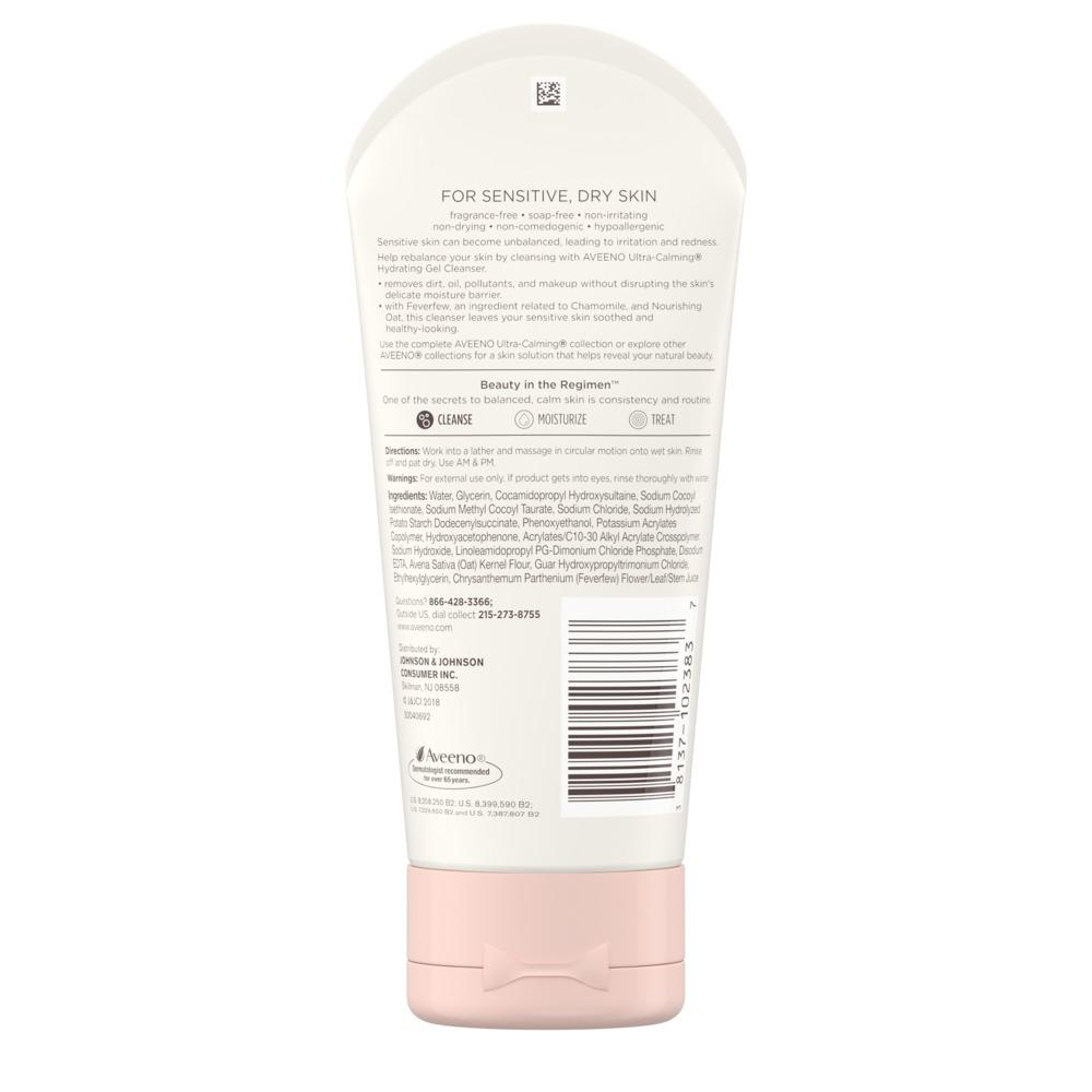 AVEENO ULTRA-CALMING® Hydrating Gel Cleanser