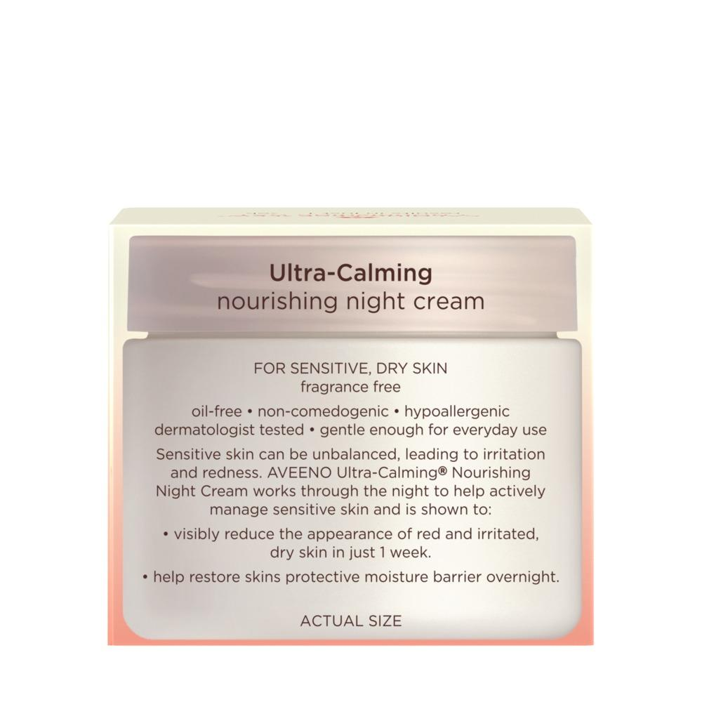 AVEENO ULTRA-CALMING® Nourishing Night Cream