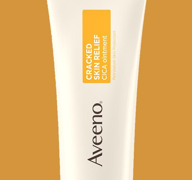 aveeno cracked skin ointment for severe dry skin on body