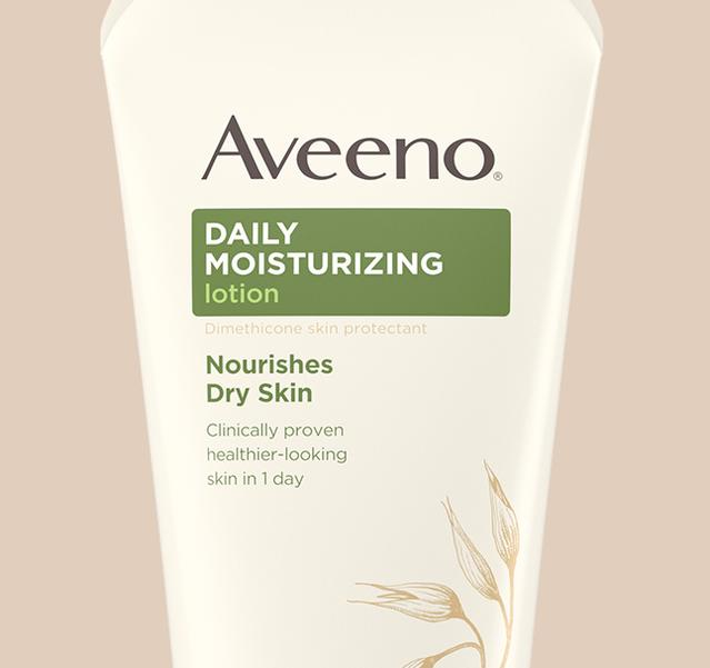 daily moisturizer for dry skin from aveeno body lotion collection