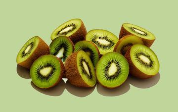 Ingredientes para el cuidado de la piel de Aveeno: kiwi