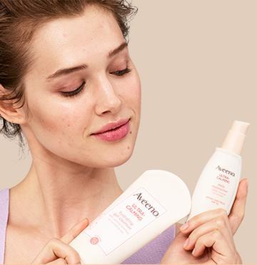 loción aveeno relajante para piel seca y sensible