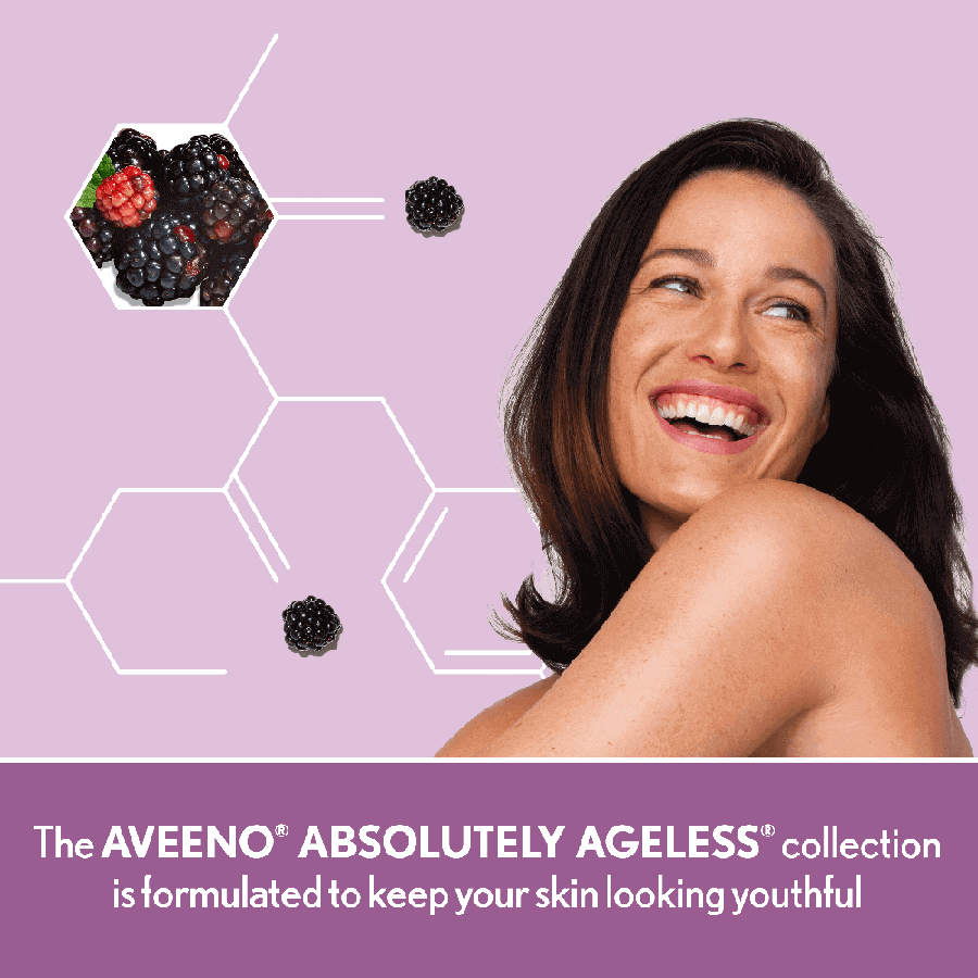 AVEENO® ABSOLUTELY AGELESS® Nourishing Face Cleanser