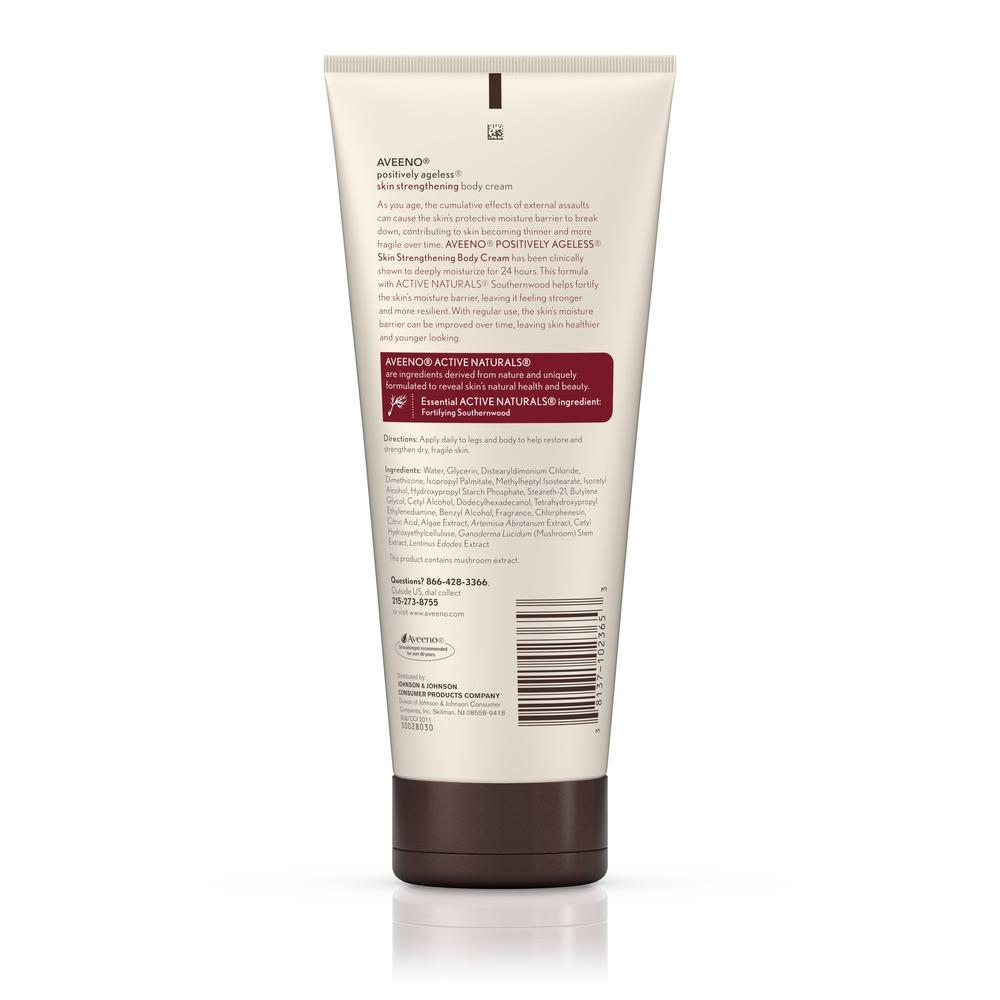 AVEENO® POSITIVELY AGELESS® Skin Strengthening Body Cream
