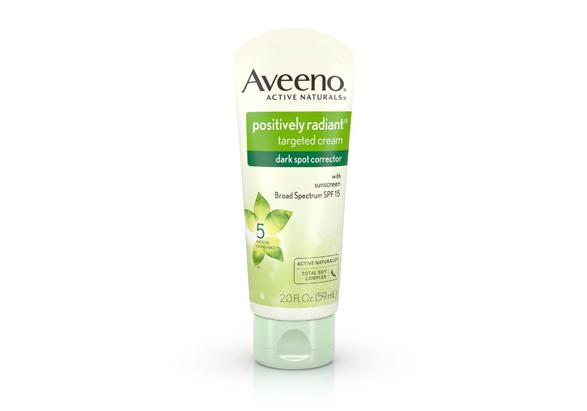 AVEENO® POSITIVELY RADIANT® Targeted Cream Dark Spot Corrector