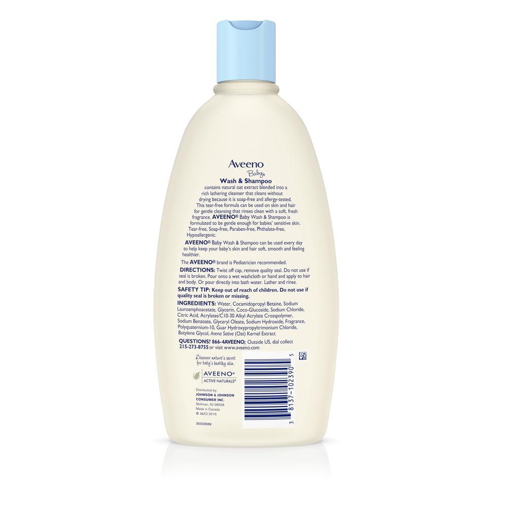 AVEENO® Baby Wash & Shampoo