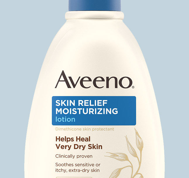aveeno body lotion for very dry skin
